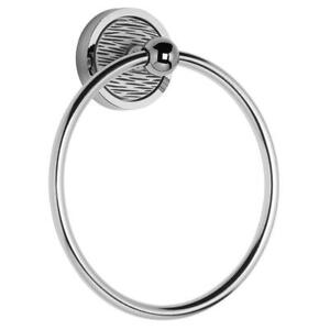 Croydex Stripes Wall Mounted Towel Ring