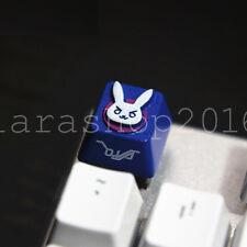 Overwatch DVA D.va Bunny Allumen Key Cap Keycap For MX Mechanical Keyboard
