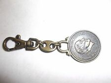 VINTAGE PAOLO GUCCI  KEY CHAIN  BRASS  TONE  4''