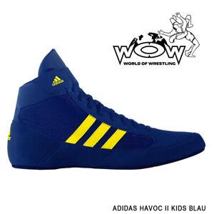 Ringerschuhe Adidas Havoc BLAU Blue Wrestling Shoes Ringen