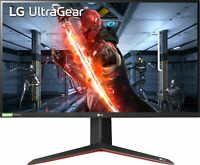 "LG - UltraGear 27"" IPS LED QHD FreeSync and G-SYNC Compatable Monitor with HD..."