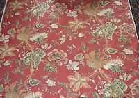"""Fabric  Floral Print 60"""" Wide x 1 Yard Upholstery Weight"""