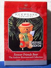 Hallmark Ornament 1998 Forever Friends Bear The Andrew Brownsword Collection