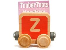 Timber Toots Name Trains Wooden Railway System Alphabet Preschool Toys Letter Z