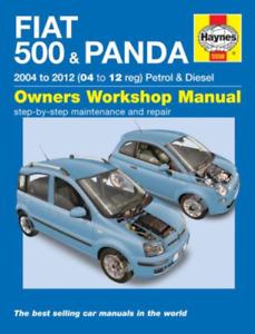 Haynes Workshop Manual Fiat 500 & Panda 2004-2012 Service & Repair