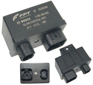 55203394 Genuine Fiat SAAB Alfa Romeo Glow Control Unit Relay Bosch 0281003043