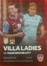 Manchester City Football Fixture Programmes for Women
