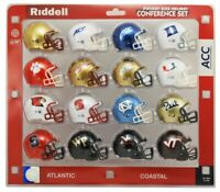 ACC  POCKET PRO HELMET SET RIDDELL REVOLUTION HELMETS ORIGINAL PACKAGE