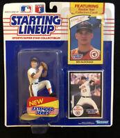 1990 KENNER STARTING LINEUP BEN MCDONALD SLU MLB EXTENDED SERIES NEW SEALED