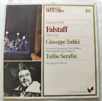 FALSTAFF GIUSEPPE VERDI LP GIUSEPPE TADDEI TULLIO SERAFIN VINYL ITALY 1981 NM/NM