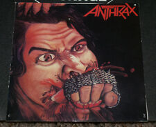 Anthrax Vintage 1984 Megaforce Records Cd Cover Owned By Jonny Z!