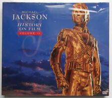 MICHAEAL JACKSON HISTORY ON FILM DVD NUOVO SLIPCASE SEALED