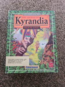 Legend of Kyrandia by Westwood Studios - 1992 - Commodore Amiga- Big Box Game