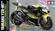 TAMIYA 14119 Yamaha Yzr-M1 '09 Monster Tech 3 Motorcycle Plastic Model Kit 1/12