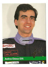 F1 Card - Andrea Chiesa - Formula 1 Racing