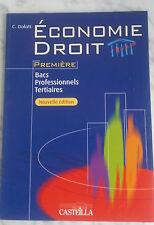 2006 ECONOMIE DROIT 1ère BACS PRO C.DALATI IN FOLIO TBE