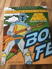GENTLE GIANT :      STAR WARS BOBA FETT HOLIDAY SPECIAL        852 / 870