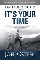 Daily Readings From  It's Your Time - Joel Osteen - Hardcover