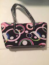 New Polka Dot Print 2 Strap Handbag