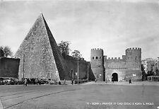 BR18259 Piramide di caio Cestio e porta s paolo Roma   italy