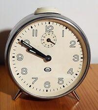"""Vintage alarm clock - Alter mechanischer Chrom Wecker """"Elite"""" Uhr"""