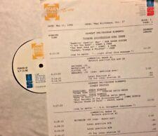 RADIO SHOW: 5/11/88 MAY B-DAYS! CHER, STEVE WINWOOD, PROCOL HARUM, YARDBIRDS,WHO
