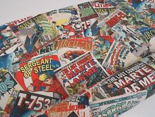 Digital Comic Book tissu de coton rideau ameublement Quilting Artisanat Stores
