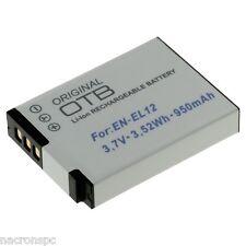 Batterie EN-EL12 Nikon CoolPix S70 P300 S8000 S610 S9100 S9200 S9300 S9400 S9700