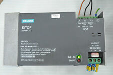 SIEMENS 6EP1436-1SH01 SITOP power20 power supply ALIMENTATION 24V DC 20A IN 3PH