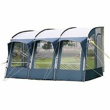 ROYAL WESSEX 390 CARAVAN LIGHTWEIGHT BLUE PORCH AWNING