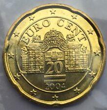 Autriche 20 centimes Euro 2004 Neuve
