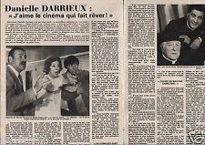 Coupure de presse Clipping 1980 Danielle Darrieux (4 pages)