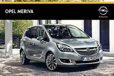 Opel Meriva 05 / 2014 catalogue brochure polonais Poland