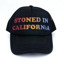 VOLCOM Cali Stoned in California Trucker Cap Meshback Adjustable Snapback Hat
