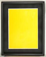 Bernard Aubertin monocromo giallo 30x40 archiviato e pubblicato