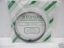 """EUROPA CARBON FLEX BANDSAW BLADE 2095MM X 3/8"""" X 6 TPI TO FIT DEWALT DW738 DW739"""