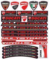 Ducati Multistrada 1200 Adesivi per decalcomanie moto 1200S /125