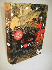 1st Edition POW! Mo Yan NOBEL PRIZE First Printing NOVEL Fiction
