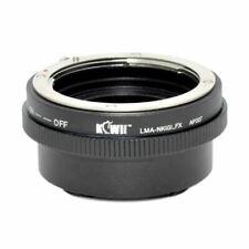 Kiwifotos Mount Adapter - Nikon G to Fuji X