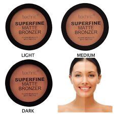 Technic Superfine Matte Bronzer Compact Powder Light / Medium / Dark Shades New