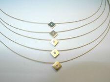 Collares y colgantes de joyería gargantilla de oro amarillo