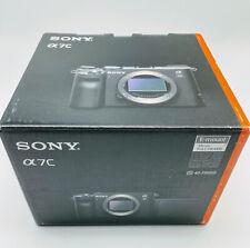 Sony Alpha 7C Full-Frame Mirrorless Camera - Silver (ILCE7C/S), A7C/ Shutter 0