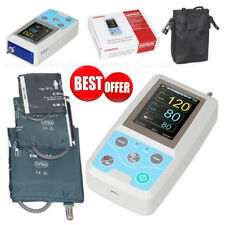 Monitoraggio della pressione arteriosa 24 ore NIBP Holter,software,3 bracciali