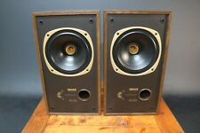 Tannoy DC-100 Speakers Dual Concentric Gold Frame Drivers Vintage Audiophile