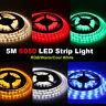 Waterproof 5M 10M 5050 SMD RGB Warm Cool White 300 LED Flexible Strip light 12V