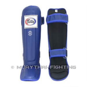 Fairtex Muay Thai Kick Boxing Shin Guard Protector Protection S M L XL