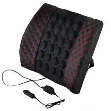 Car Seat Back Lumbar Massage Cushion Waist Support Brace Rest Pillow Electrical Fits Suzuki Equator