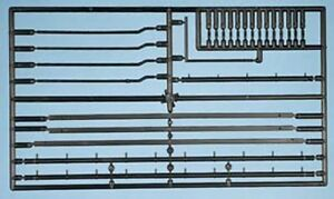 Ratio 538 - Gutters & Downpipes 00 Gauge Plastic Detail Kit -2nd Class Post ONLY