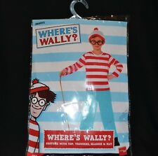 Smiffy's Offically Licenced Where's Wally Costume Children's Size L 10 to 12