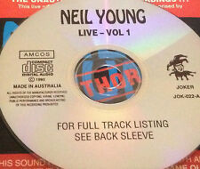 Neil Young Live Vol. 1 Aust CD Super Rare Rockin' In The Free World Powderfinger